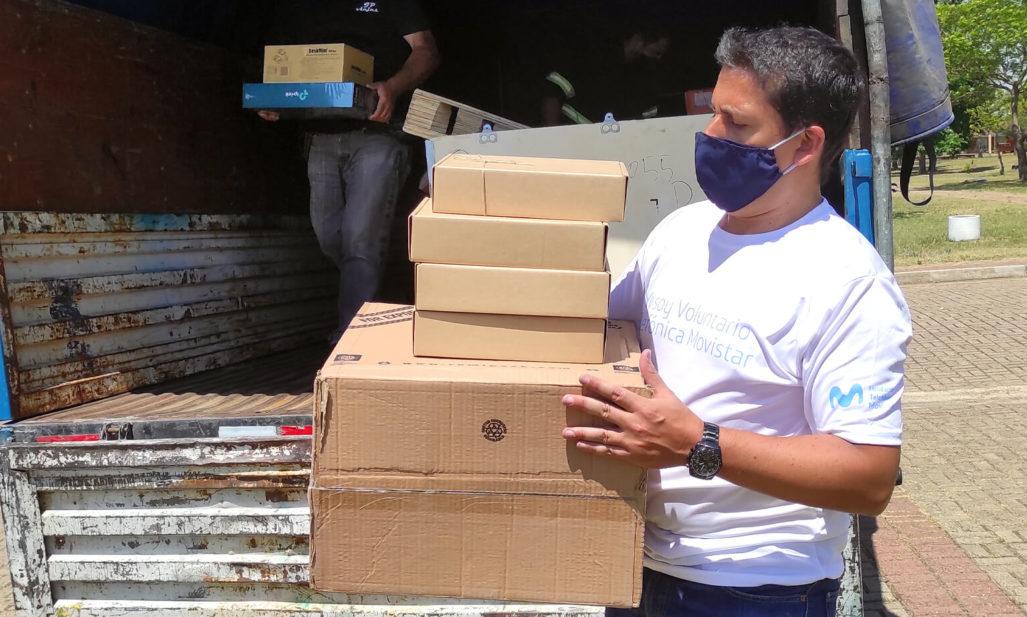 Fundación Telefónica Movistar se embarcó en un Reto Solidario de 15.000 km por Aldeas Infantiles