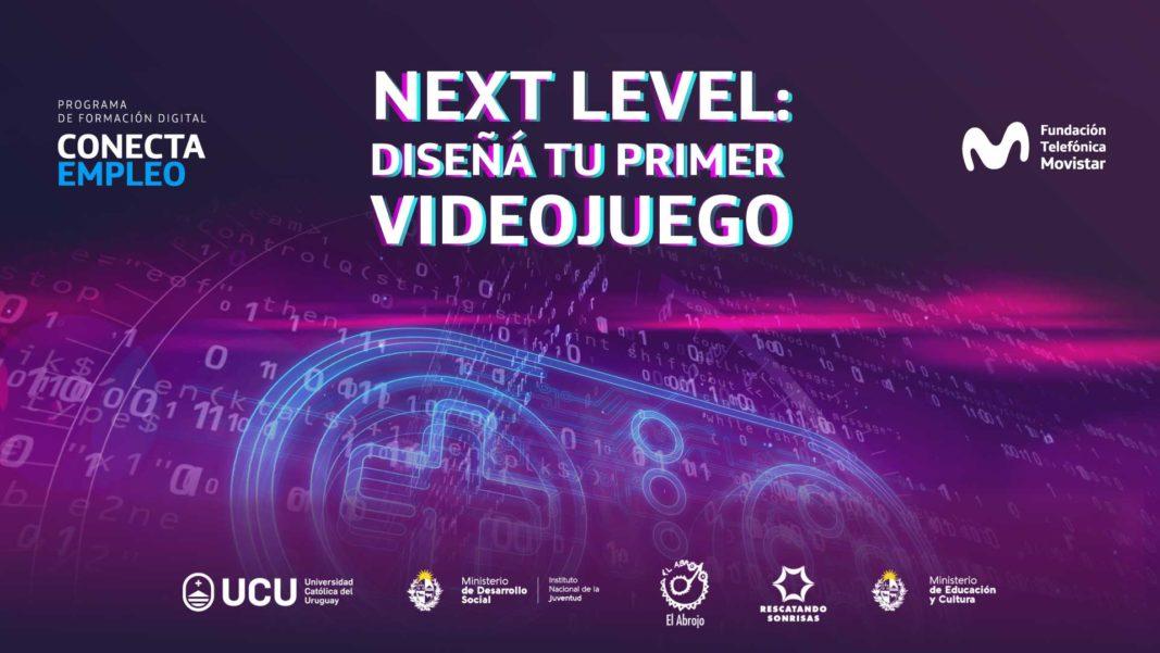 NextLevel: Aprendé a diseñar videojuegos, tu primer acercamiento